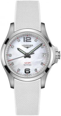 Longines Conquest V.H.P. 36mm L3.316.4.87.9