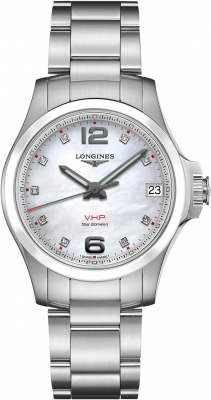 Longines Conquest V.H.P. 36mm L3.319.4.87.6