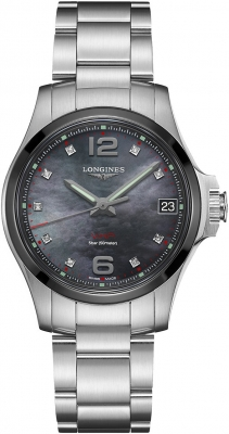 Longines Conquest V.H.P. 36mm L3.319.4.88.6