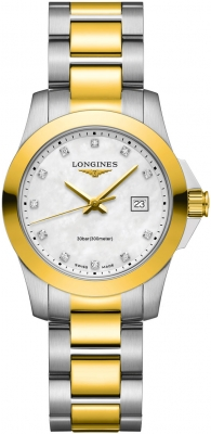 Longines Conquest Quartz Ladies 29.5mm L3.376.3.87.7