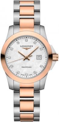 Longines Conquest Quartz Ladies 29.5mm L3.376.3.88.7