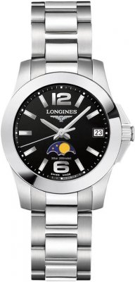 Longines Conquest Quartz Ladies 29.5mm L3.380.4.58.6