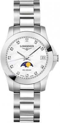 Longines Conquest Quartz Ladies 29.5mm L3.380.4.87.6