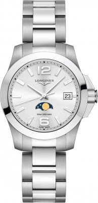 Longines Conquest Quartz 34mm L3.381.4.76.6