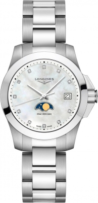 Longines Conquest Quartz 34mm L3.381.4.87.6