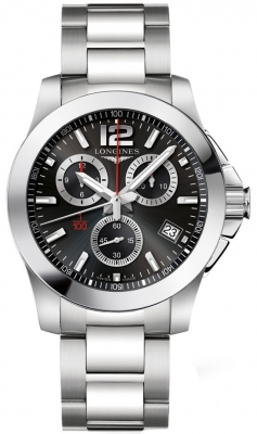 Longines Conquest Quartz Chronograph L3.700.4.56.6