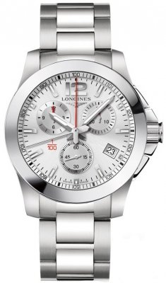 Longines Conquest Quartz Chrono 41mm L3.700.4.76.6