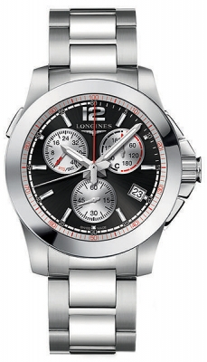 Longines Conquest Quartz Chrono 41mm L3.701.4.56.6