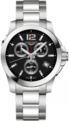 Longines Conquest Quartz Chronograph L3.702.4.56.6