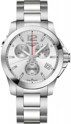 Longines Conquest Quartz Chrono 41mm L3.702.4.76.6