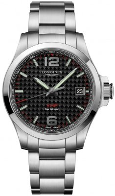 e9092a502d6 Model #: L3.716.4.66.6 L37164666. Longines Conquest V.H.P. 41mm Mens Watch