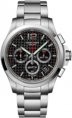 Longines Conquest V.H.P. Chronograph 42mm L3.717.4.66.6