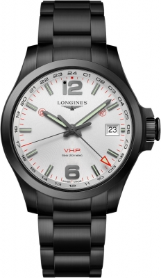 Longines Conquest V.H.P. GMT 41mm L3.718.2.76.6