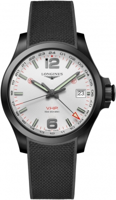 Longines Conquest V.H.P. GMT 41mm L3.718.2.76.9
