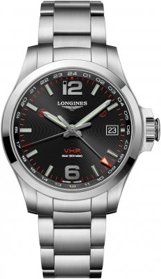 Longines Conquest V.H.P. GMT 41mm L3.718.4.56.6