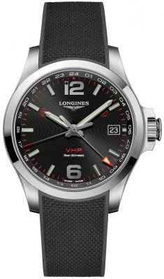 Longines Conquest V.H.P. GMT 41mm L3.718.4.56.9