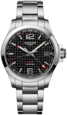 Longines Conquest V.H.P. GMT 41mm L3.718.4.66.6
