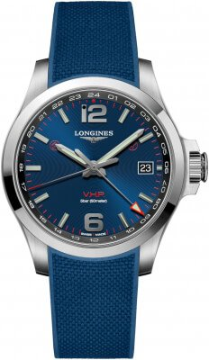 Longines Conquest V.H.P. GMT 41mm L3.718.4.96.9