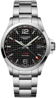 Longines Conquest V.H.P. GMT 43mm L3.728.4.66.6