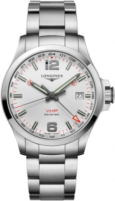 Longines Conquest V.H.P. GMT 43mm L3.728.4.76.6