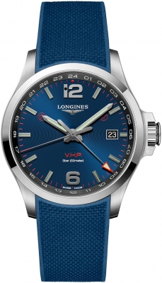 Longines Conquest V.H.P. GMT 43mm L3.728.4.96.9