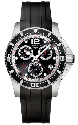 Longines HydroConquest Quartz Chrono 41mm L3.743.4.56.2