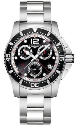 Longines HydroConquest Quartz Chronograph 41mm L3.743.4.56.6