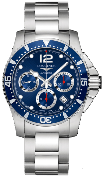 L3.744.4.96.6 Longines HydroConquest Automatic Chronograph ...