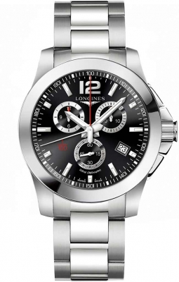 Longines Conquest Quartz Chrono 44mm L3.800.4.56.6