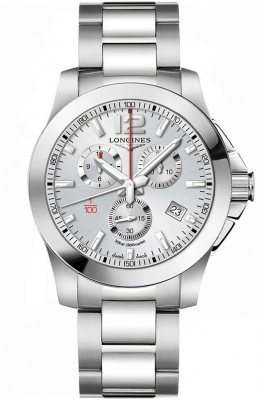 Longines Conquest Quartz Chrono 44mm L3.800.4.76.6