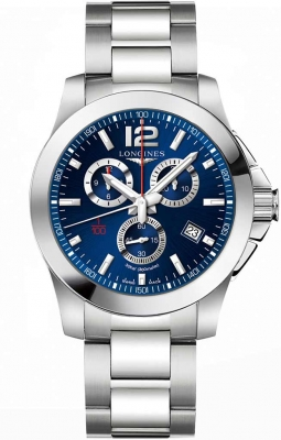 Longines Conquest Quartz Chrono 44mm L3.800.4.96.6