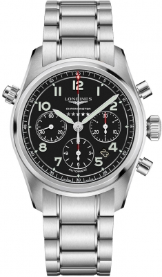 Longines Spirit Automatic Chronograph 42mm L3.820.4.53.6