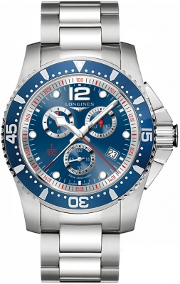 Longines HydroConquest Quartz Chrono 47mm L3.843.4.96.6