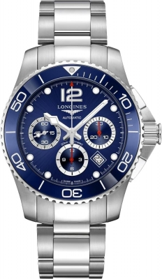 Longines HydroConquest Automatic Chronograph 43mm L3.883.4.96.6