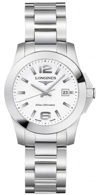 Longines Conquest Quartz Ladies 29.5mm L3.277.4.16.6