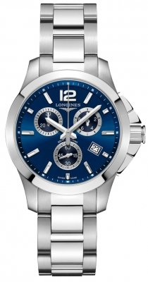 Longines Conquest Quartz Chrono 36mm L33794966