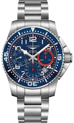 Longines HydroConquest Automatic Chronograph 41mm L3.696.4.03.6