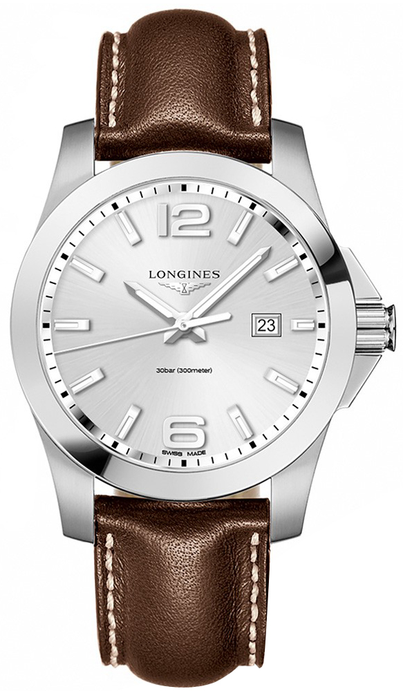 longines conquest quartz 43mm mens watch l37604765 l37604765