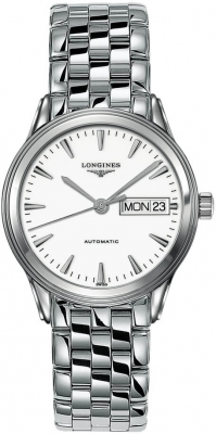 Longines Flagship Automatic Day Date 35.6mm L4.799.4.12.6