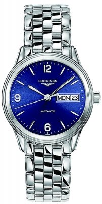 Longines Flagship Automatic Day Date 35.6mm L4.799.4.96.6