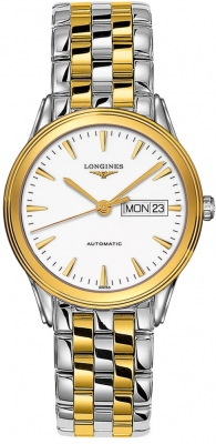Longines Flagship Automatic Day Date 38.5mm L4.899.3.22.7
