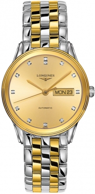 Longines Flagship Automatic Day Date 38.5mm L4.899.3.37.7