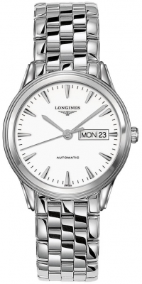 Longines Flagship Automatic Day Date 38.5mm L4.899.4.12.6