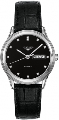Longines Flagship Automatic Day Date 38.5mm L4.899.4.57.2