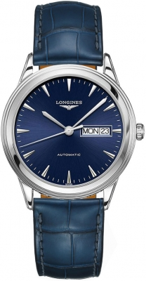 Longines Flagship Automatic Day Date 38.5mm L4.899.4.92.2