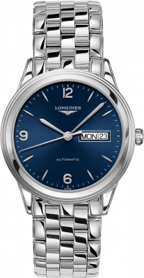 Longines Flagship Automatic Day Date 38.5mm L4.899.4.96.6