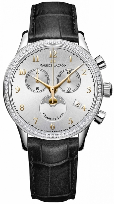 Maurice Lacroix Les Classiques Phase de Lune Chrono Ladies lc1087-sd501-121-1