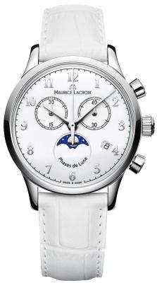Maurice Lacroix Les Classiques Phase de Lune Chrono Ladies lc1087-ss001-120-1