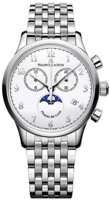 Maurice Lacroix Les Classiques Phase de Lune Chrono Ladies lc1087-ss002-120-1