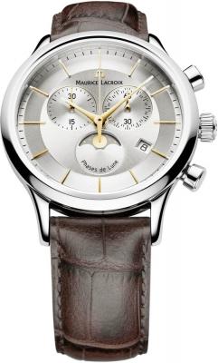 Maurice Lacroix Les Classiques Chronograph Phase de Lune lc1148-ss001-132